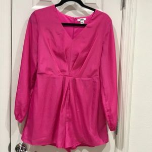 Cato Hot Pink Romper Size 6